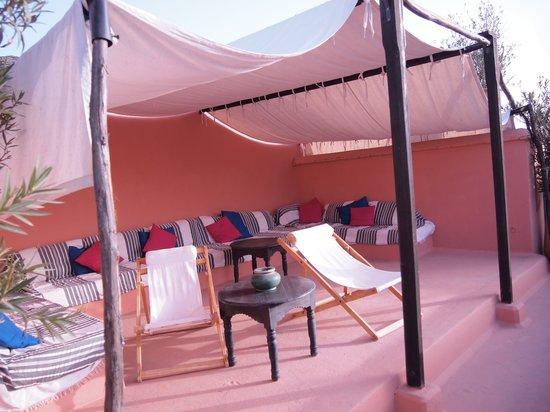 Riad Lalla Bahia : terrace