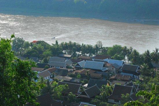 Mount Phousi: Mekong River