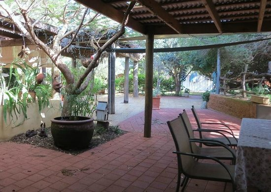 Bentwood Olive Grove: Main House Alfresco Area