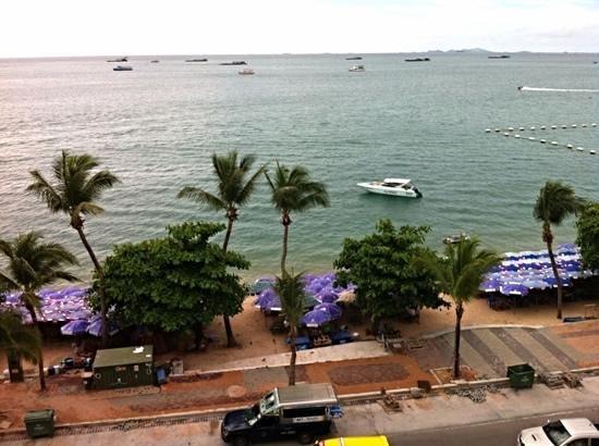 View from balcony @ Wave Hotel Pattaya