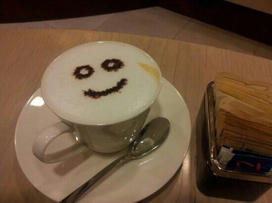 Zibibbo Cafe: Il buon giorno allo zibibbo caffè!!!