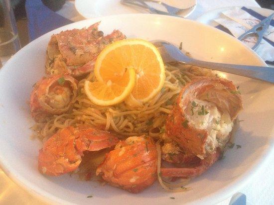 Sunset Ammoudi: Lobster pasta