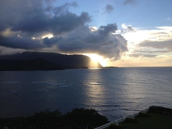 St. Regis Princeville Resort: view from the balcony at St.Regis