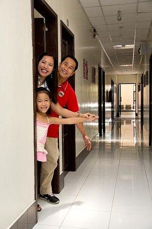 StayLite Suites: Hallway
