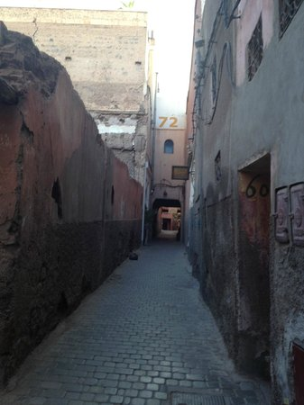 Riad Jomana: Street of Riad