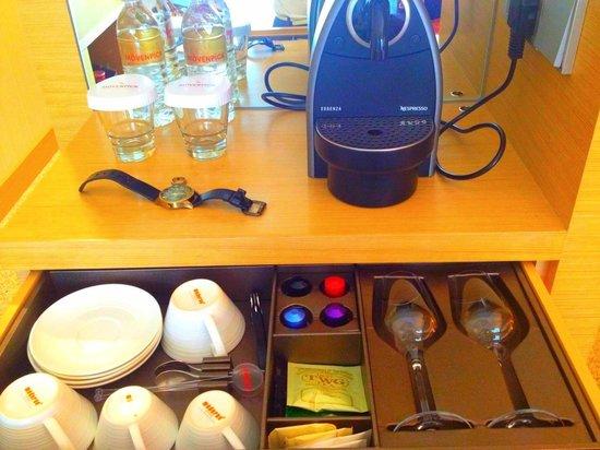 Le Meridien Singapore, Sentosa: Coffee and tea bar