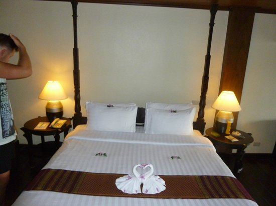 Panviman Resort - Koh Pha Ngan: comfortable bed