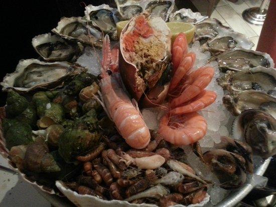 La Criee a Massy: Plateau de fruits de mer