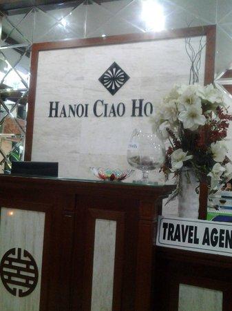 Hanoi Ciao Hotel : เคาร์เตอร์