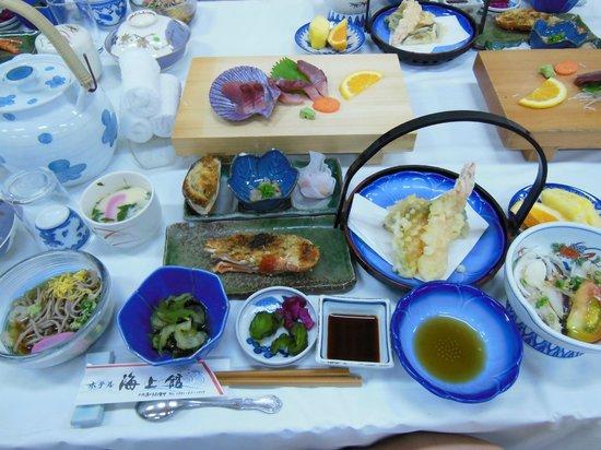 Hotel Kaijokan : 海上館の夕食