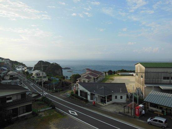 Hotel Kaijokan : 部屋からの眺め