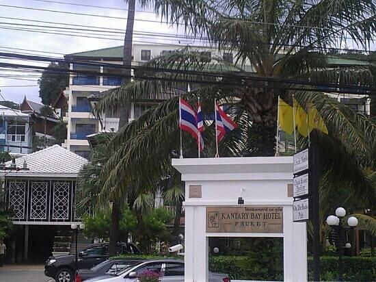 Kantary Bay, Phuket: Front of hotel