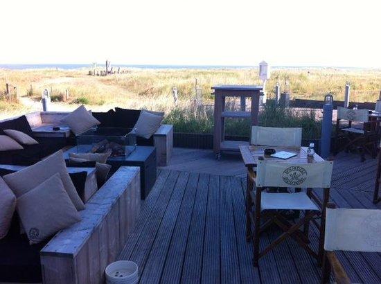 View from the restaurant picture of hotel noordzee for Design hotel zeeland