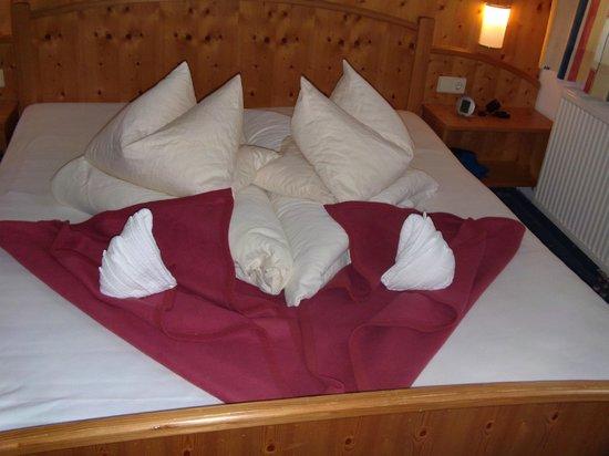 Gartnerkofel: Opgemaakt bed