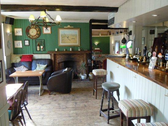 The White Lion Inn: the pub