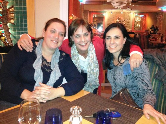 Ben's on the Beach: Andy, Chantelle & Annelie - GBL reunion at Bens