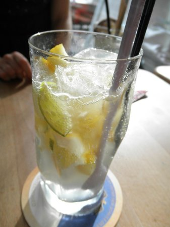Cafe Relax: Lemon Drink