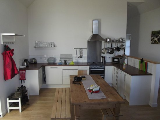 Balneden Steading: Kitchen/Dining area.
