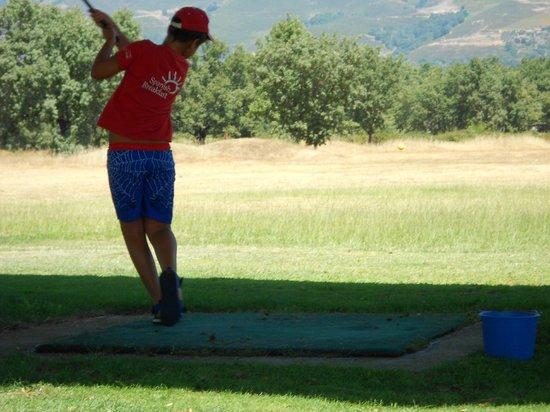 Campo De Golf De Candeleda: Amigos de la Sayuela en el campo de golf