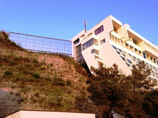 Grande Hotel Bernadin Try To Get A Room Higher Up Bild Von Grand