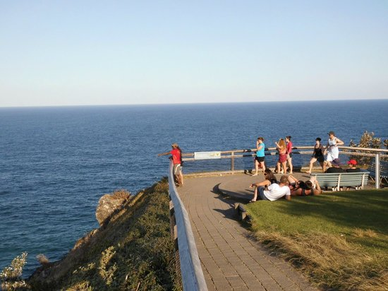 Cape Byron State Conservation Area : Easterly Point in Australia