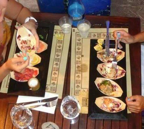La Pescheria: tavolozze