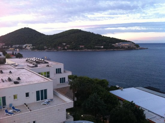 Neptun Hotel Dubrovnik: View from room 716