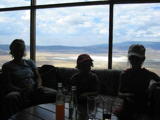Ngorongoro Crater: Overlooking the rim