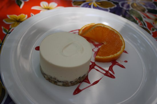 Rosa del Raval: Amazing white chocolate mousse