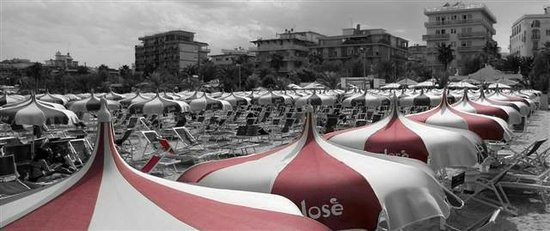 Ristorante Chalet Jose: spiaggia