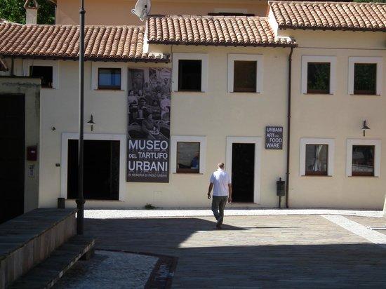 Museo del Tartufo Urbani : Ingresso del museo