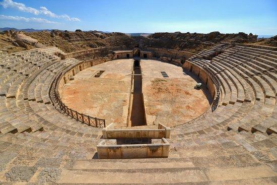 Ben Arous, Tunísia: Amphitheater