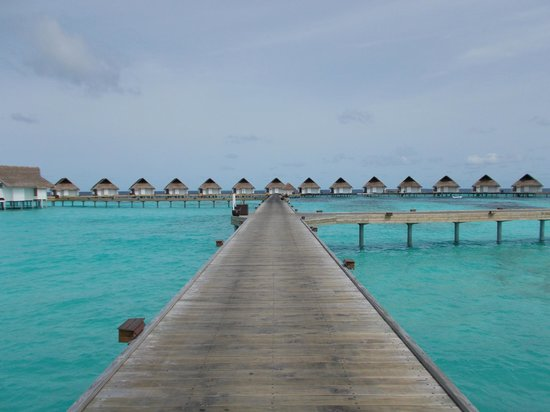 Centara Grand Island Resort & Spa Maldives : Superbe ponton