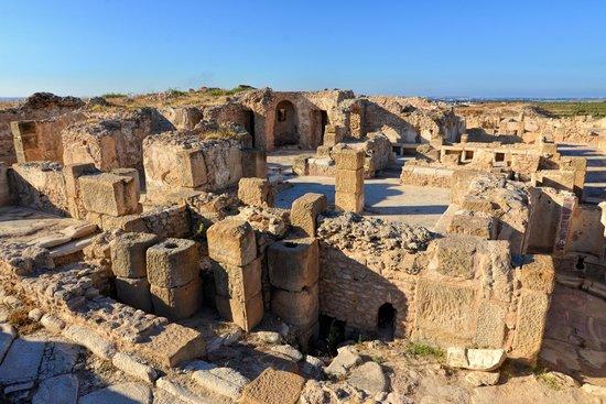 Uthina (Oudhna): Baths