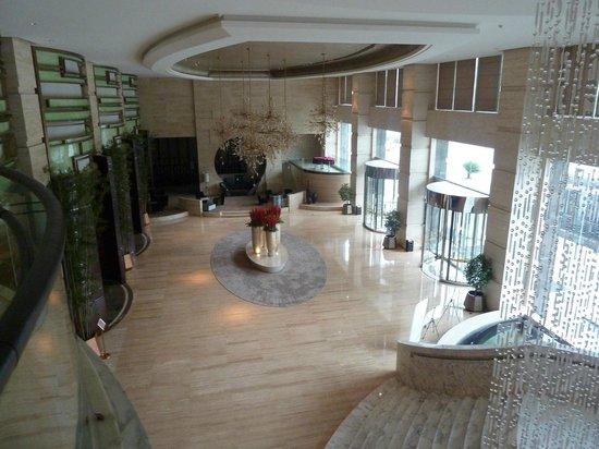Xindao International Hotel: Foyer from above