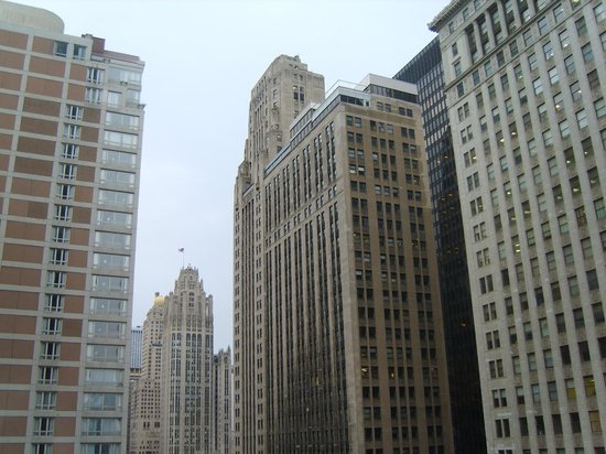Hard Rock Hotel Chicago: View from 3rd floor room