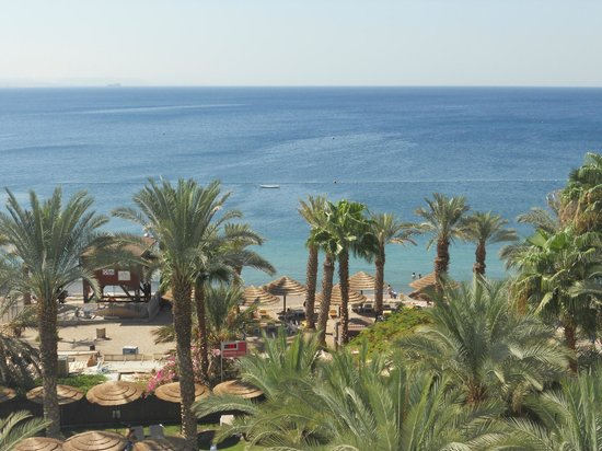 Leonardo Plaza Hotel Eilat: The view from room 522