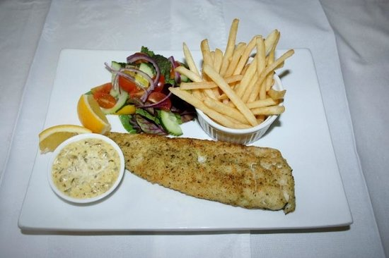Four Oaks Guest House: Fish and Chips