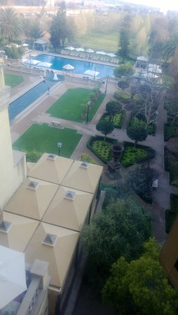 The Palazzo Montecasino: View from Room