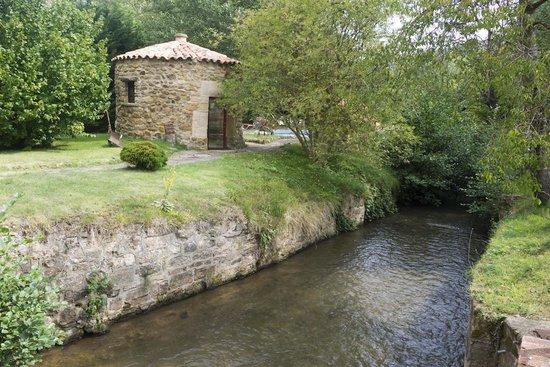 Molino del Alto Ebro: Vista desde la casa
