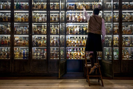 SCOTCH Whisky Bar at The Balmoral