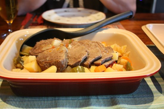 The Cosy Home: Abendessen - Rinderbraten