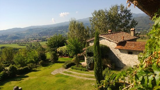Borgo Corsignano: Vista dalla Finestra dell'appartamento Il Fagiano