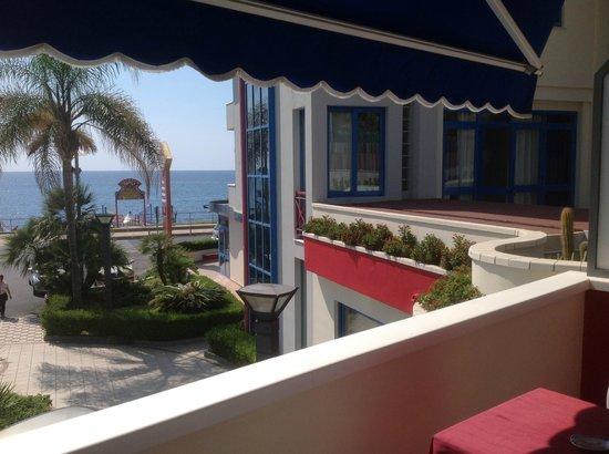 Grand Hotel La Tonnara: Balcone