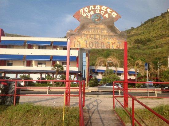 Grand Hotel La Tonnara: Spiaggia