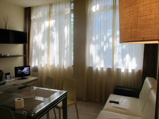 Residence Diamanterosso: The Living room
