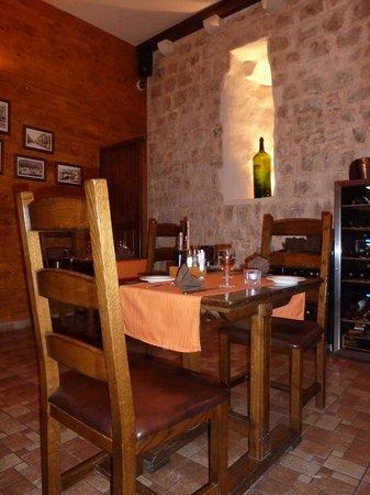 Dalmatino Konoba: Im Restaurant