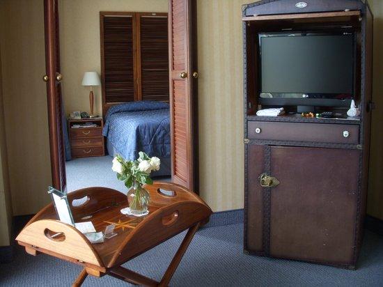 """Hotel Princess & Richmond : le style """"intérieur de bateau"""""""