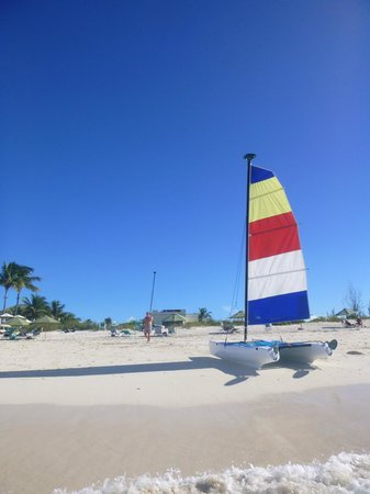 Sands at Grace Bay: One of the sail boats you can use