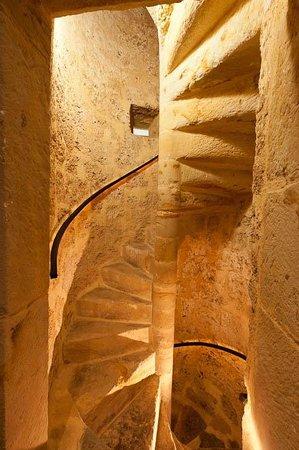 Palacio de Rubianes Hotel & Golf: Escalera caracol sXVI